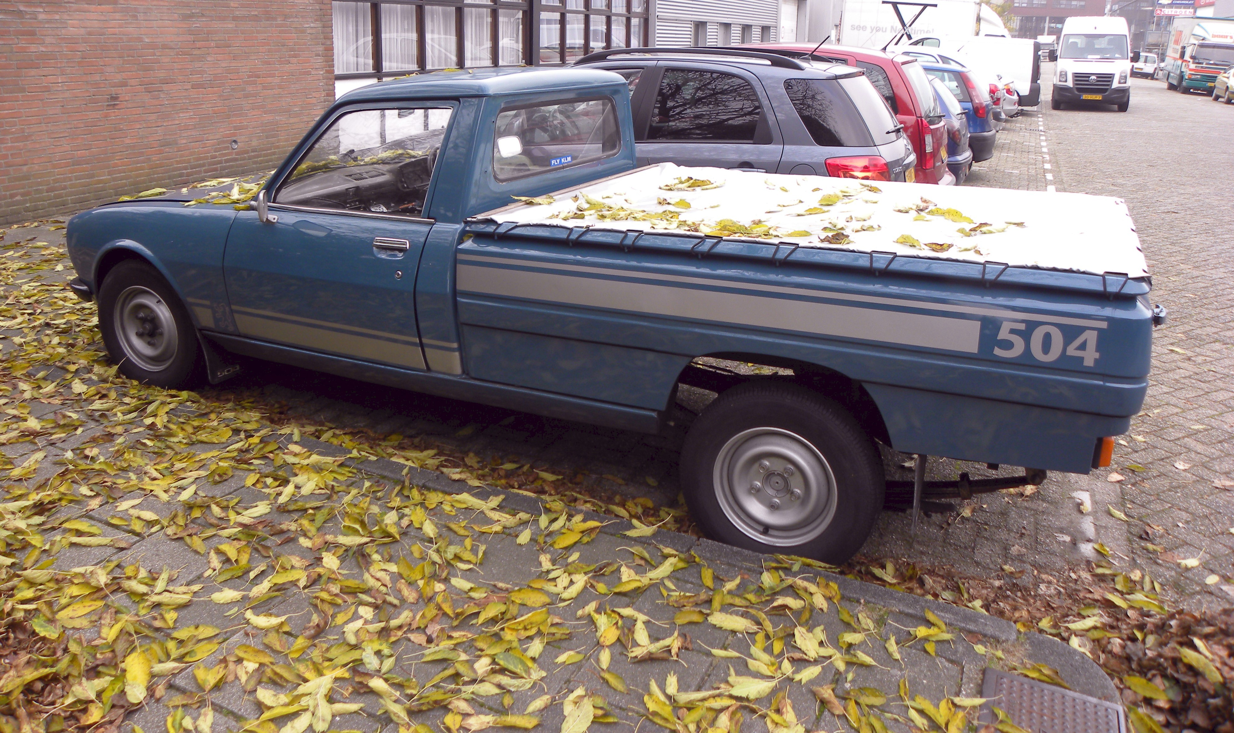 File Peugeot 504 Pick Up Jpg Wikimedia Commons