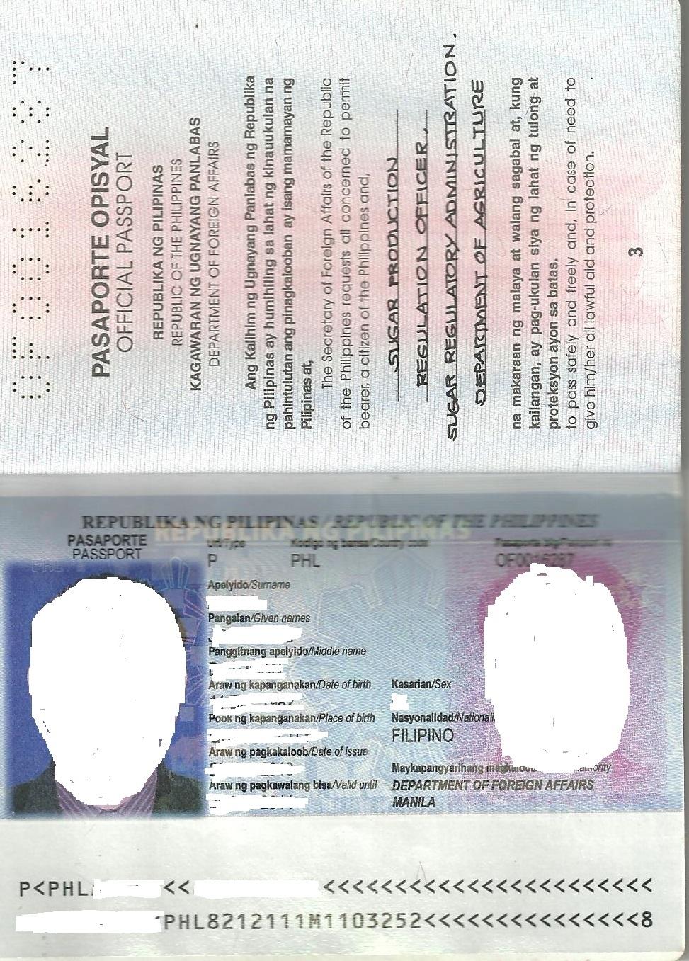 Philippine Passport New Design