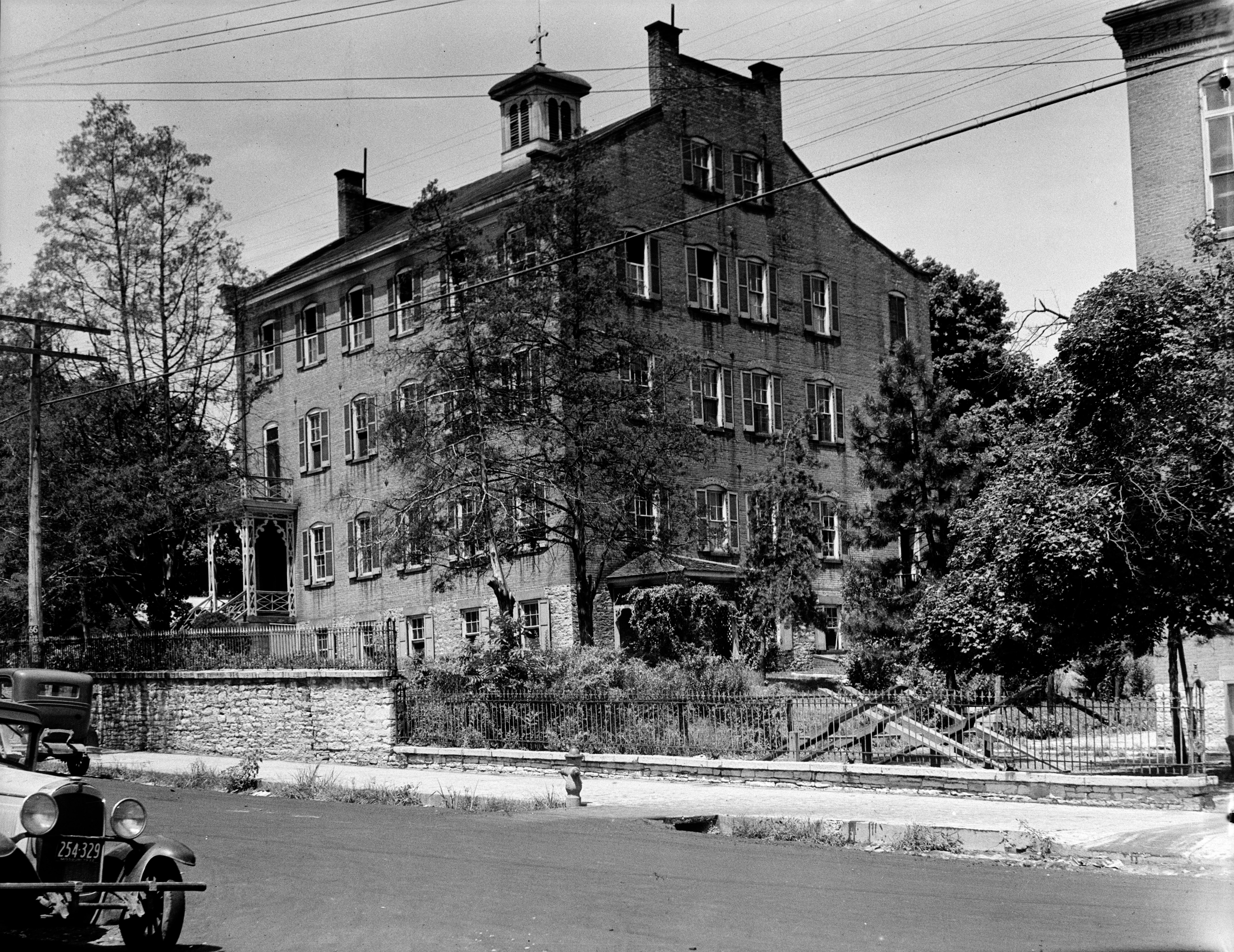 File Photograph Of 1934 Of The Convent Of The Sisters Of