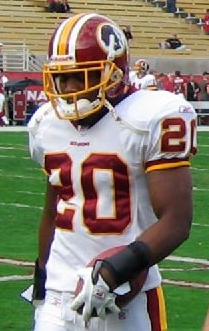 Pierson Prioleau was a strong safety for the Redskins from 2005 to 2007.[43]