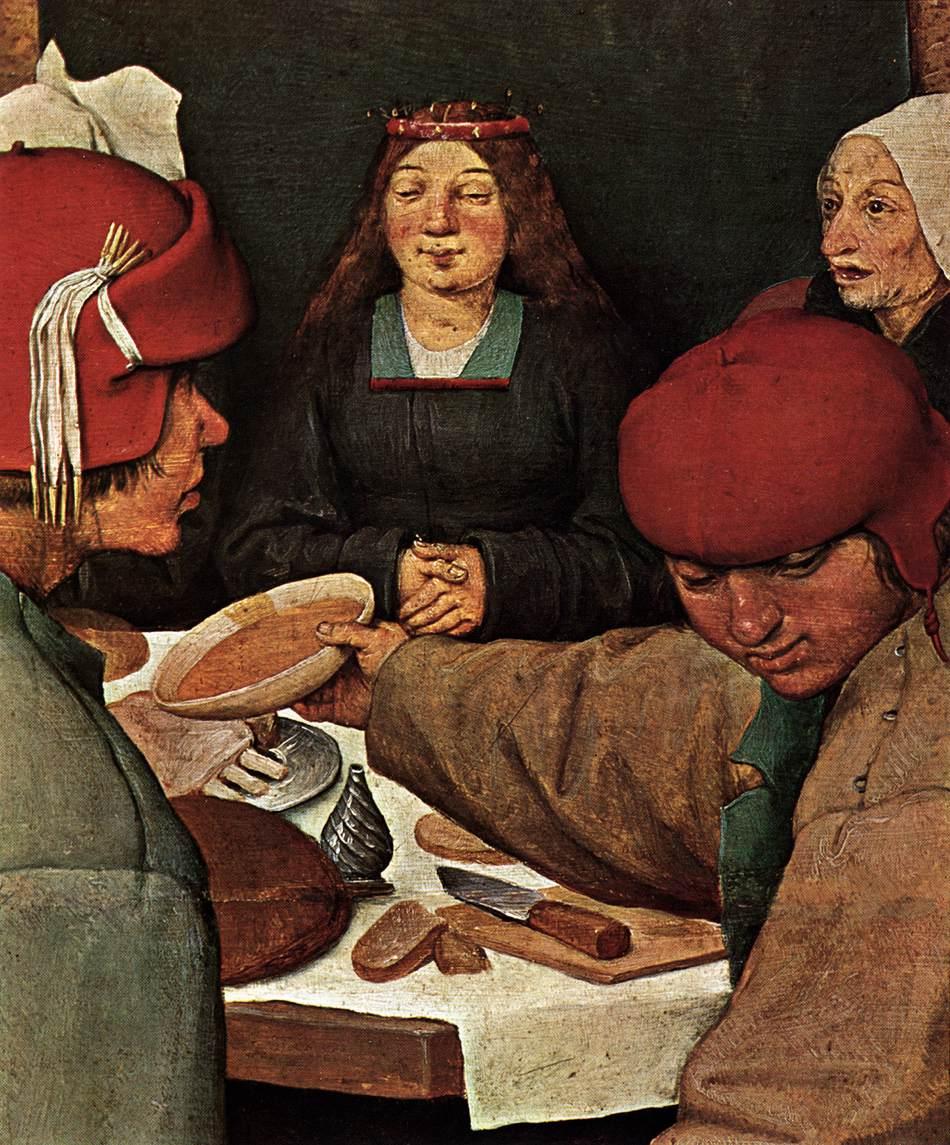 File Pieter Bruegel The Elder Peasant Wedding Detail Wga3492 Jpg