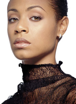 Pinkett Smith's photograph taken by Jerry Avenaim for Vogue in 2001