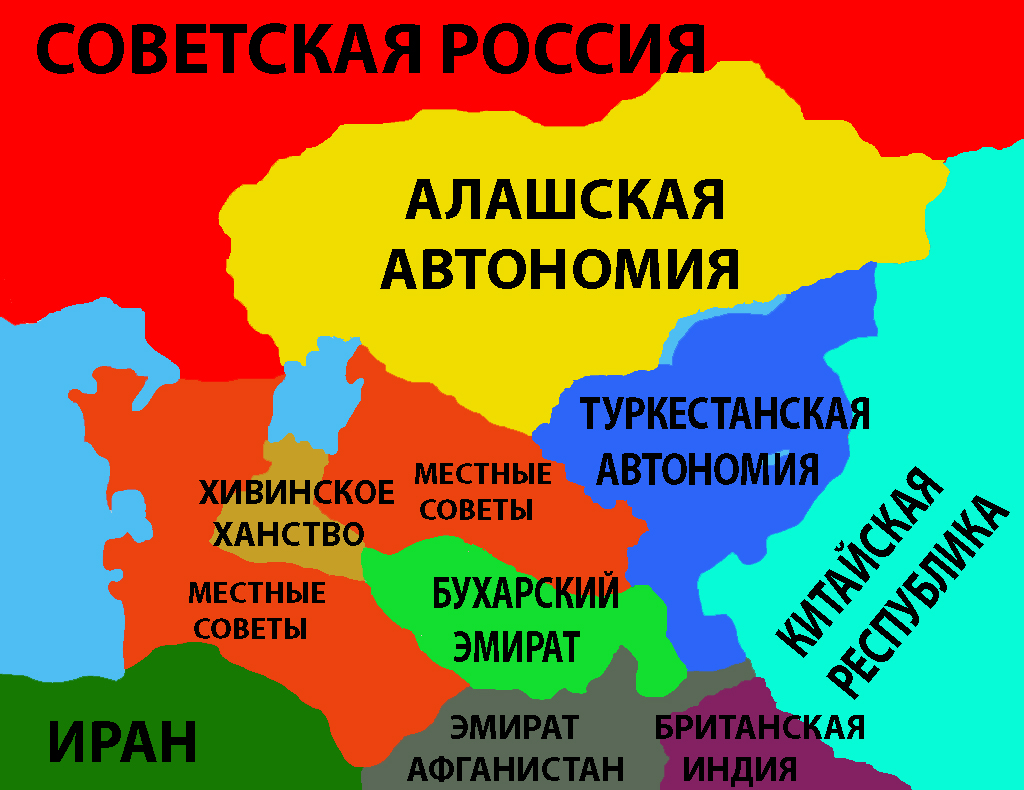 Political Map Of Central Asia.File Political Map Of Central Asia In 1918 Png Wikipedia