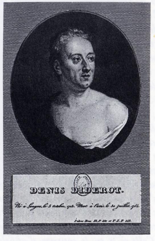 Portrait de Diderot