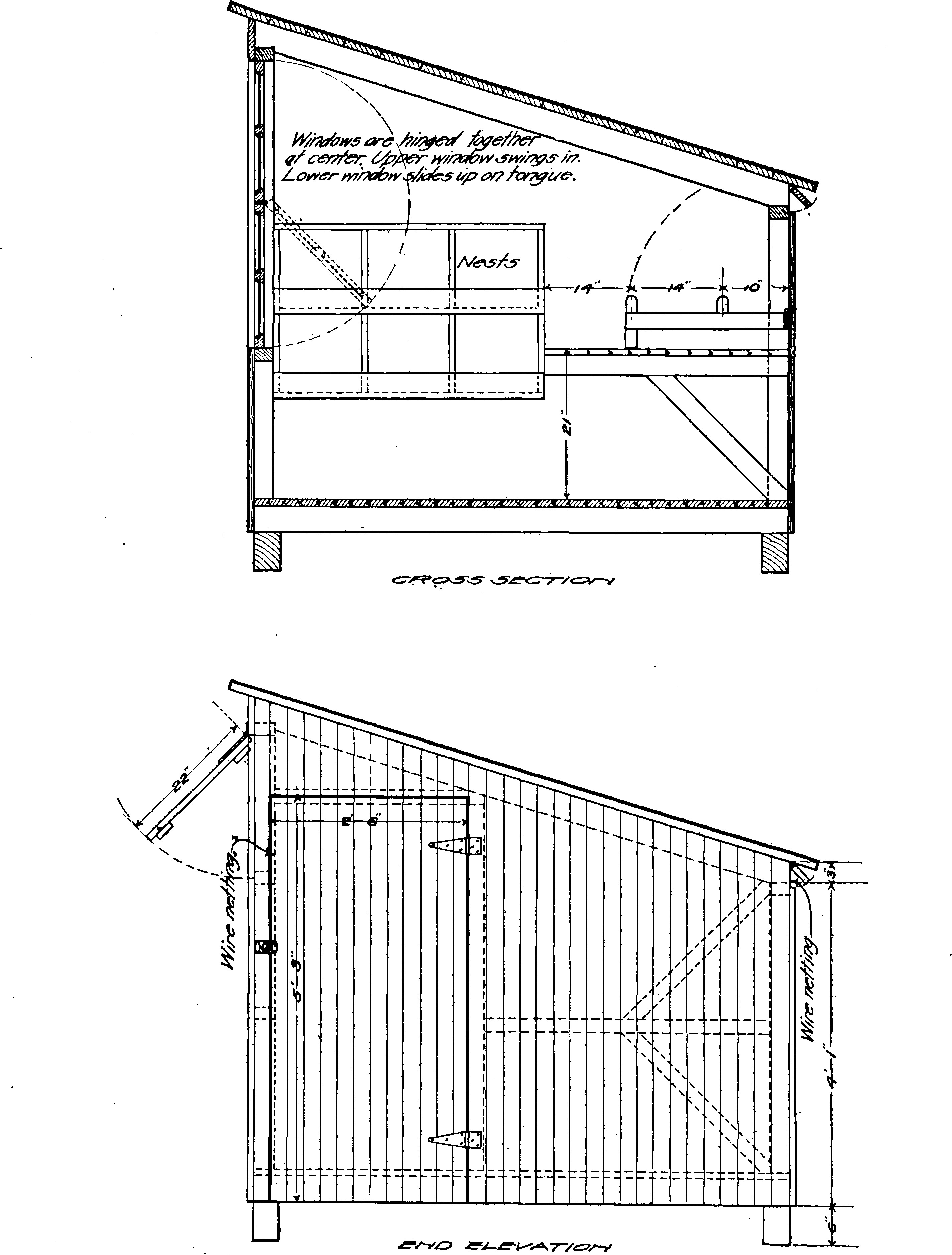 Broiler House Design For Sale: File:Poultry House Construction (1914) (14594697380).jpg