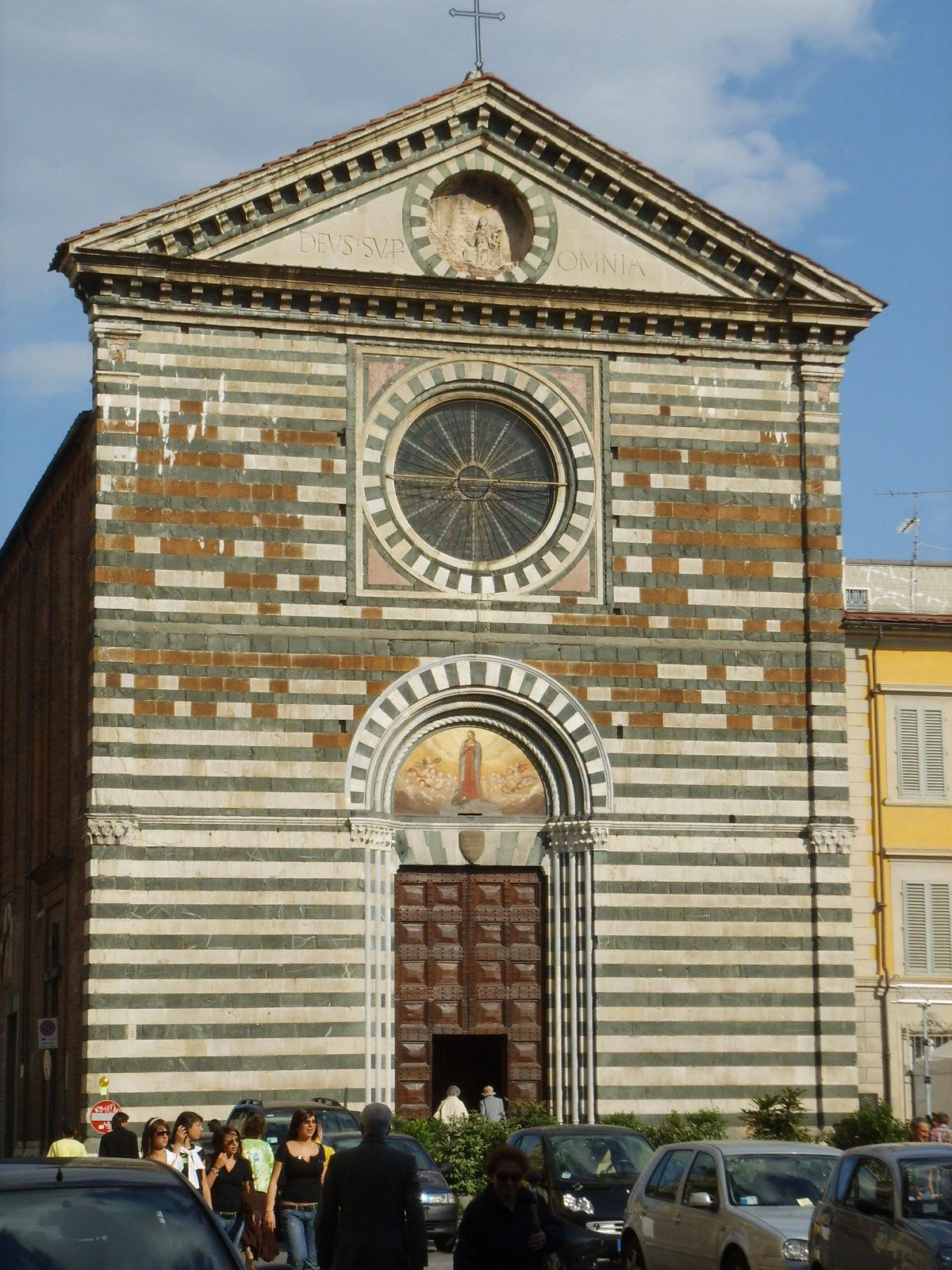 Chiesa di san francesco prato wikipedia for Piazza san francesco prato