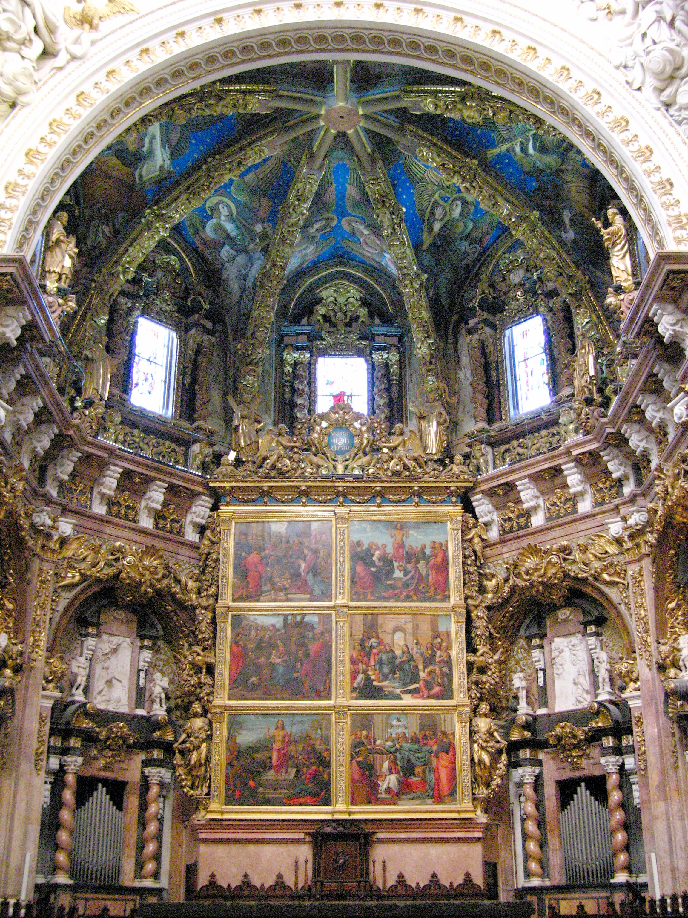 Capilla mayor de la Catedral de Valencia