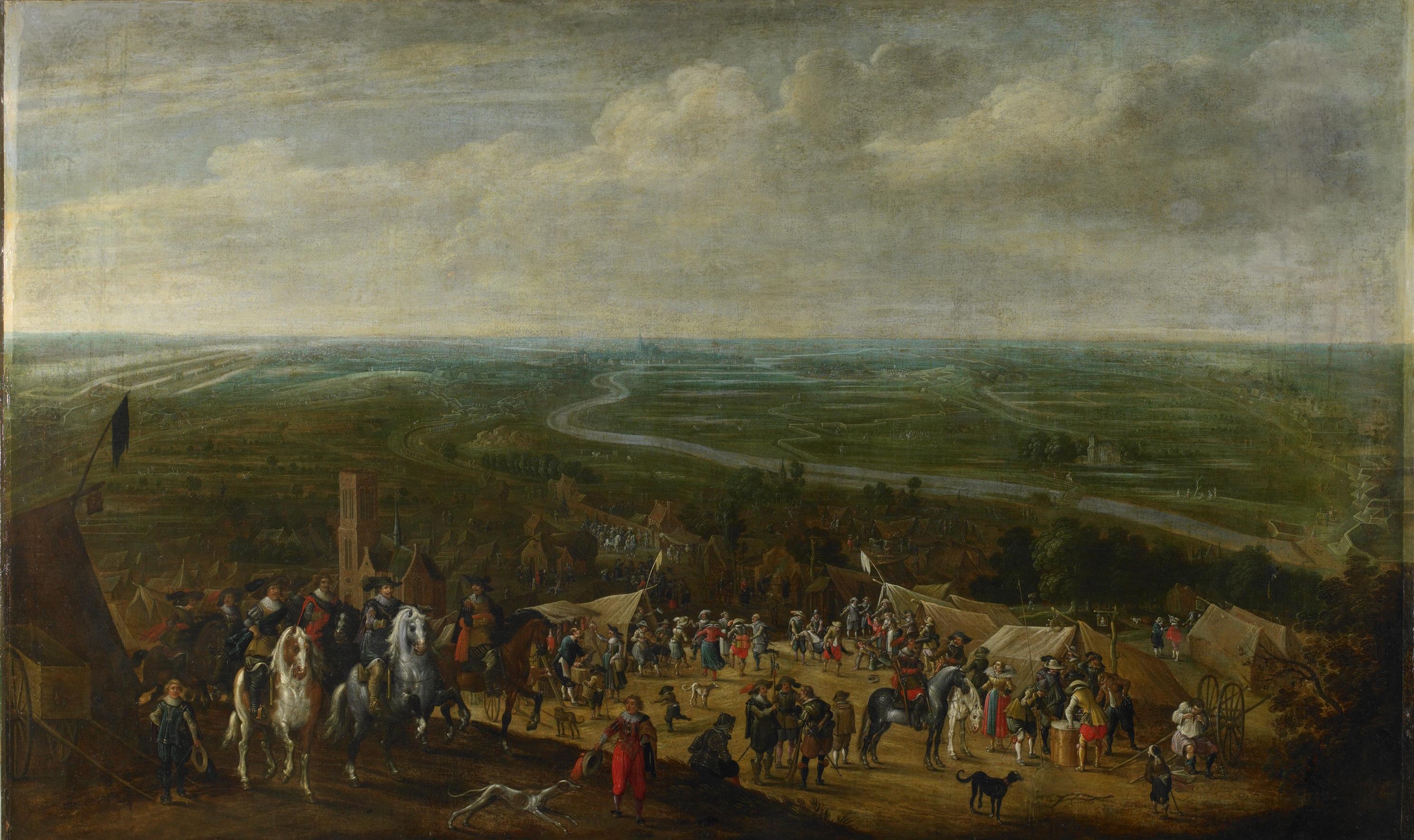 File:Prins Frederik Hendrik bij de belegering van 's-Hertogenbosch, 1629 (