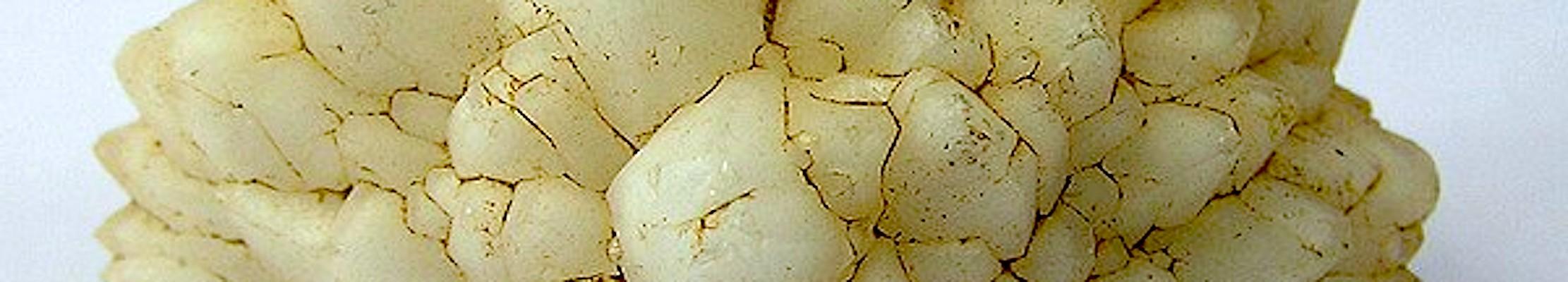Молочный кварц из Димоны, Израиль.