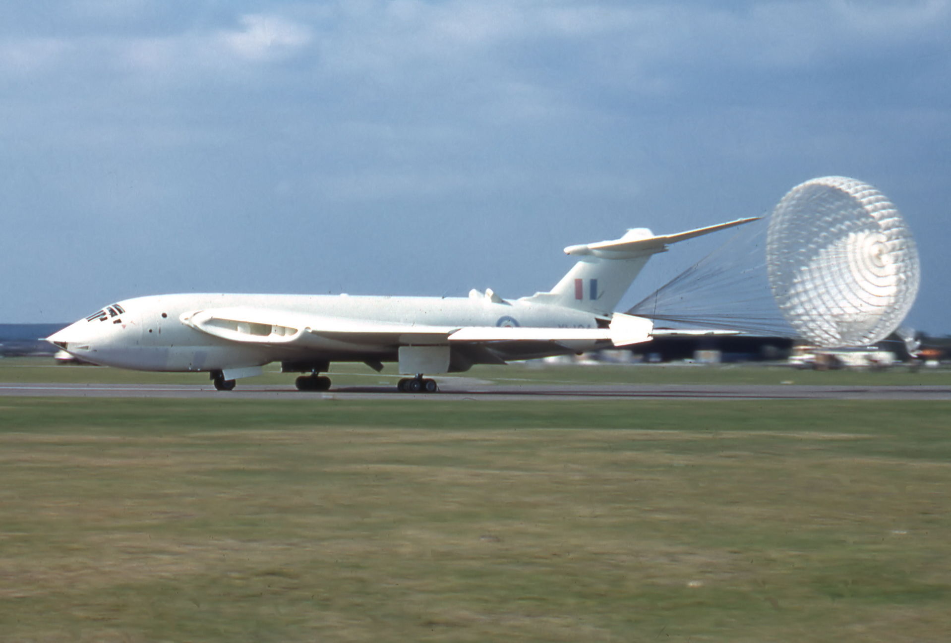 The Handley Page Victor bomber was a strategic bomber of the RAF's V bomber force used to carry both conventional and nuclear bombs.