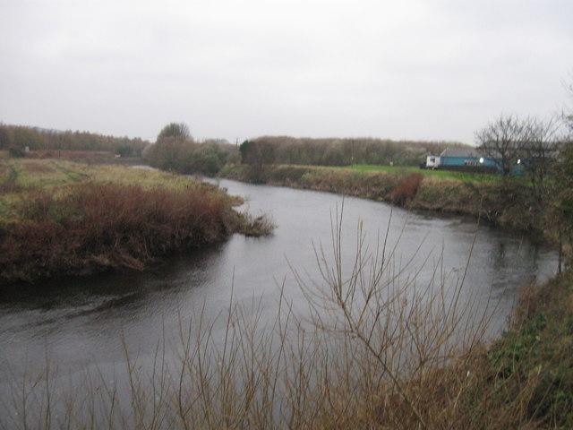 River Calder, Ossett - geograph.org.uk - 2164461