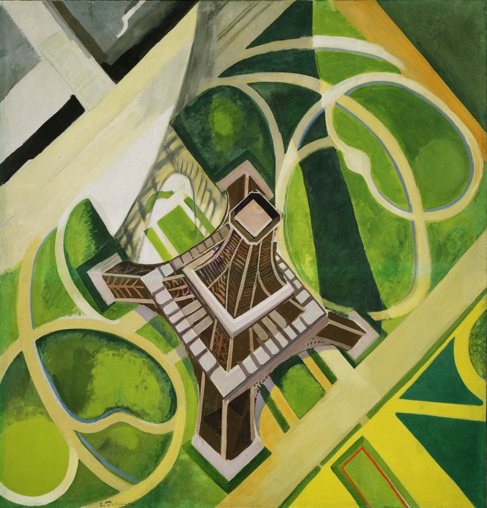 File robert delaunay eiffel tower hirschhorn ii jpg for Conception jardin fontrobert