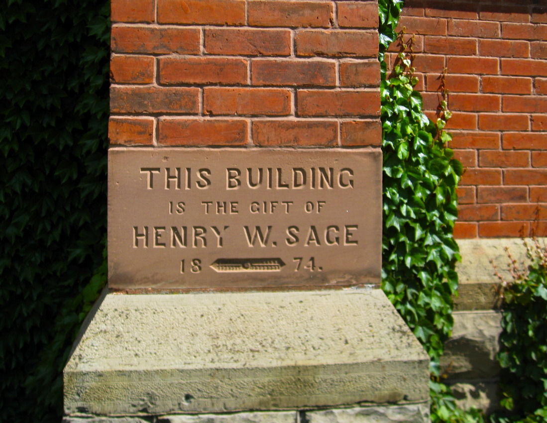 File:Sage Chapel cornerstone Cornell Univ Ithaca NY jpg