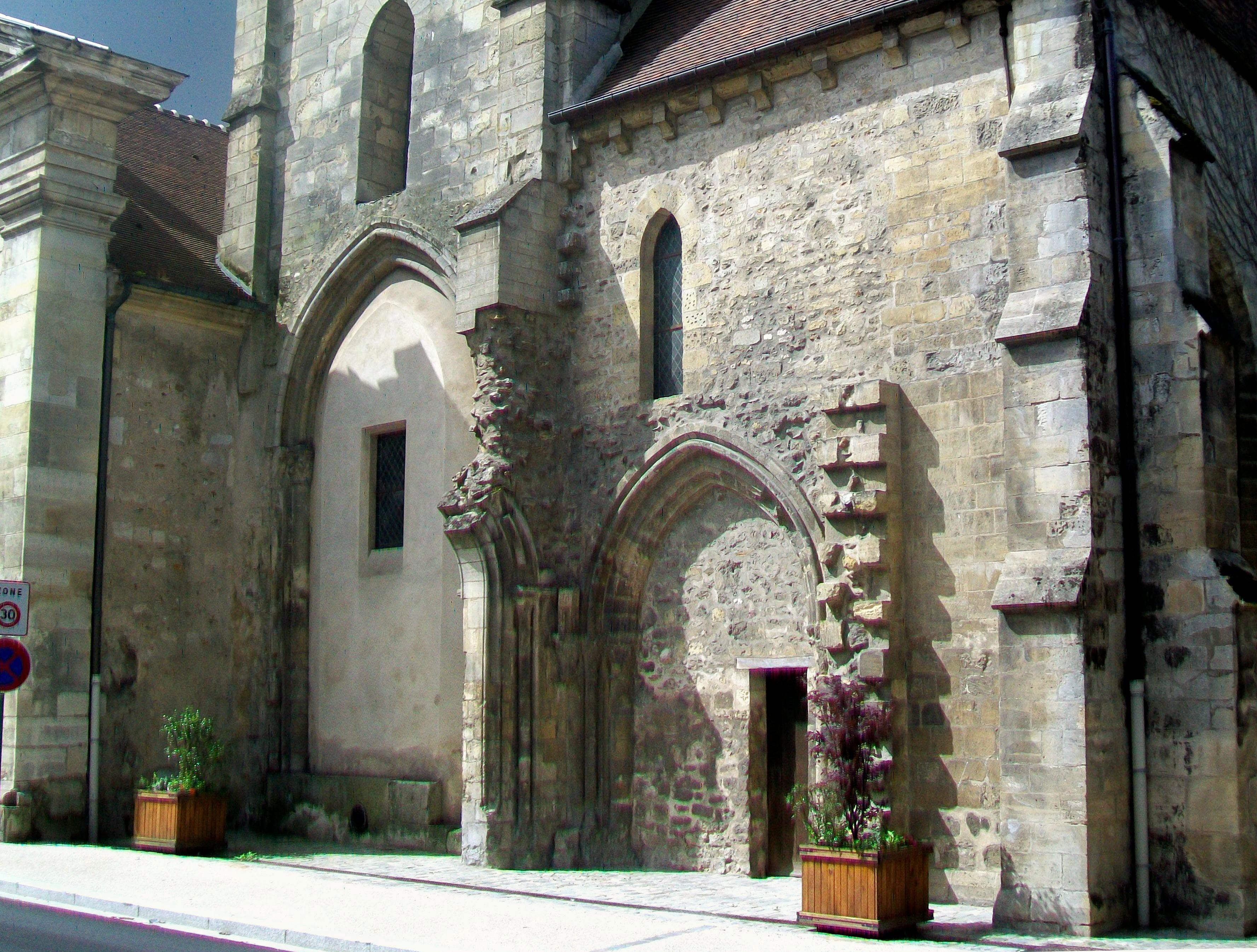 fichier saint brice sous for t 95 glise saint brice clocher et transept nord xiiie si cle. Black Bedroom Furniture Sets. Home Design Ideas