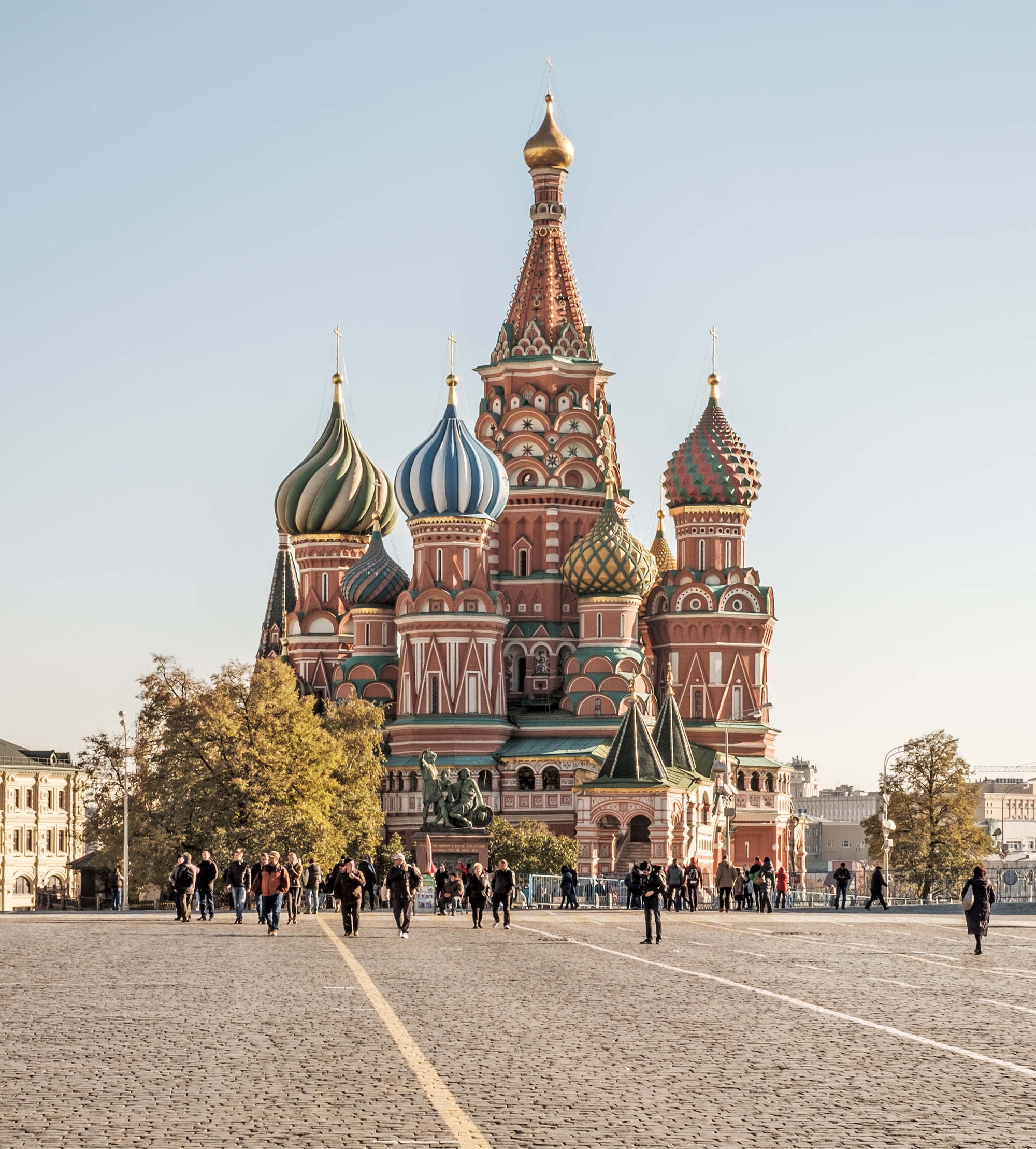 Saint Basil's Cathedral - Wikipedia