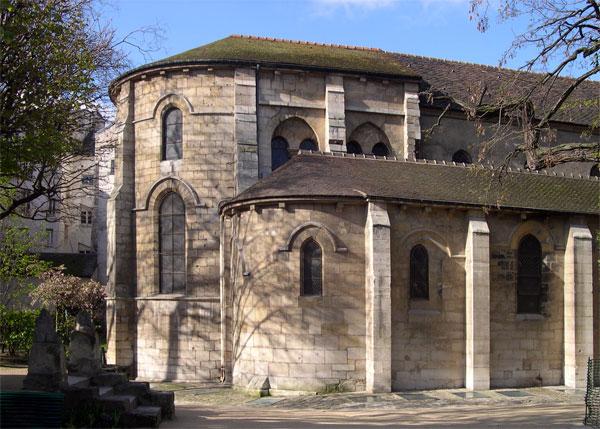 Saint-Julien-le-Pauvre, Церкви Парижа, достопримечательности Парижа, Париж, путеводитель по Парижу, что посмотреть в Париже