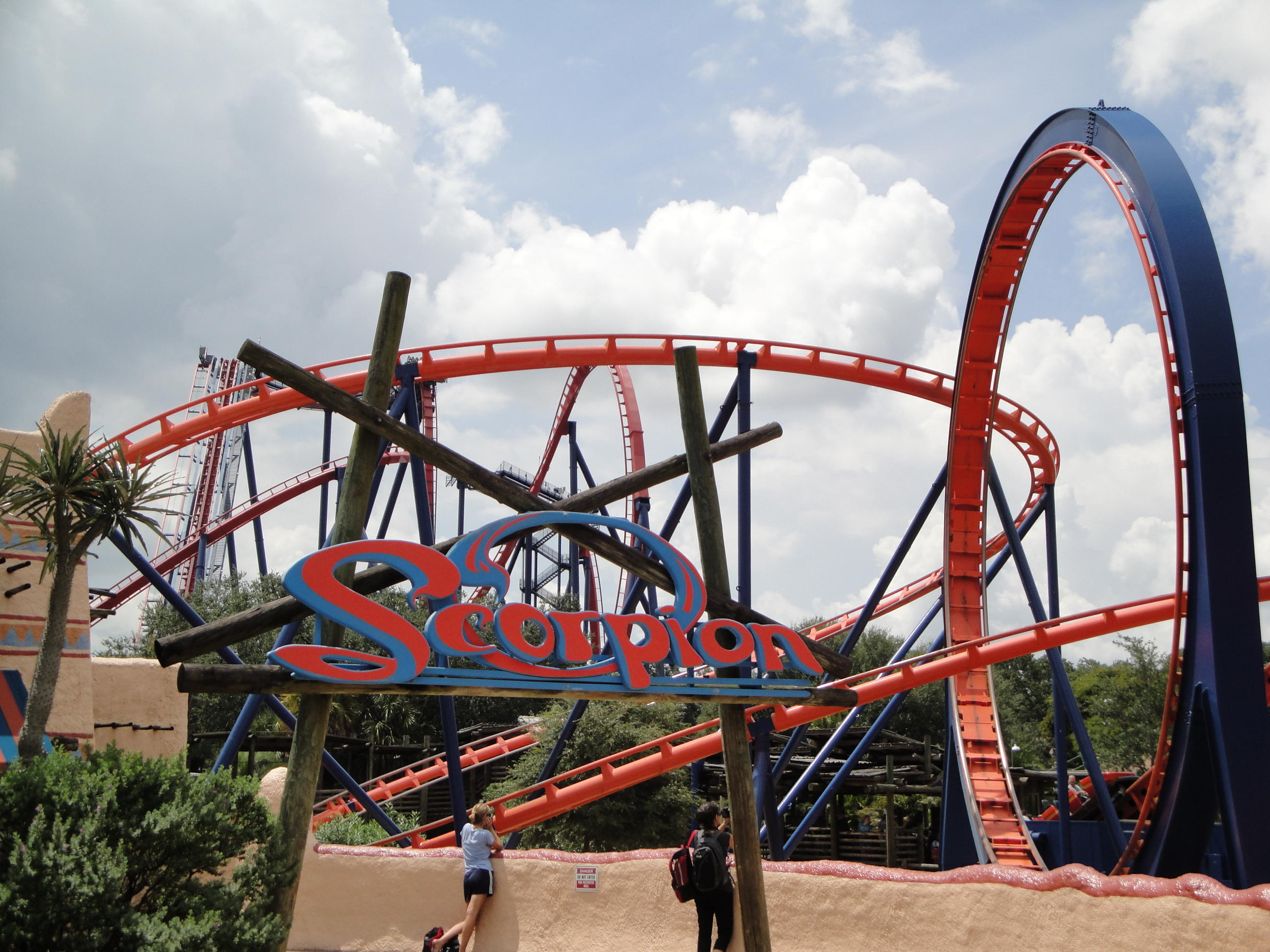Scorpion Busch Gardens Tampa Wikiwand