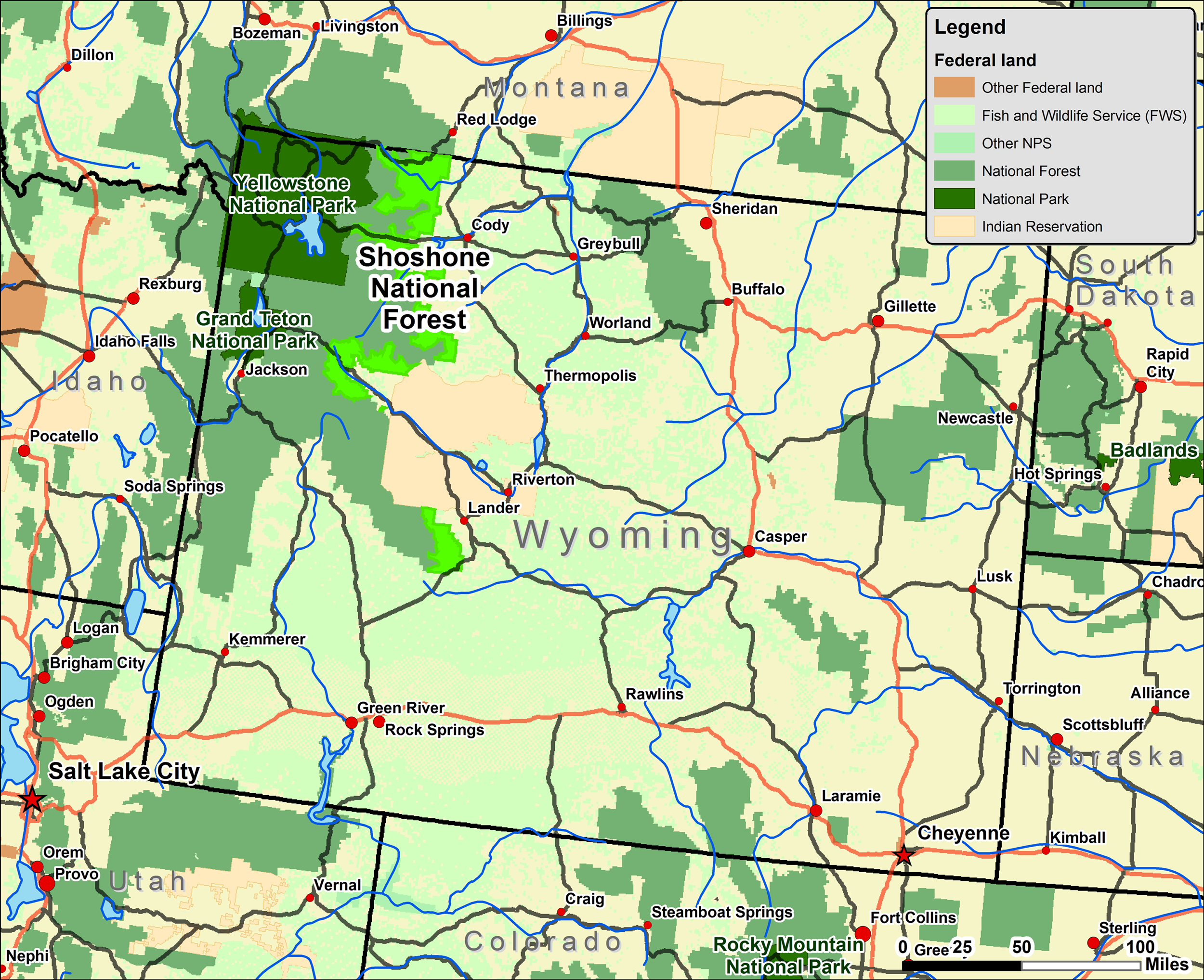 Badlands Wyoming Map.File Shoshone Wy Map Png Wikimedia Commons