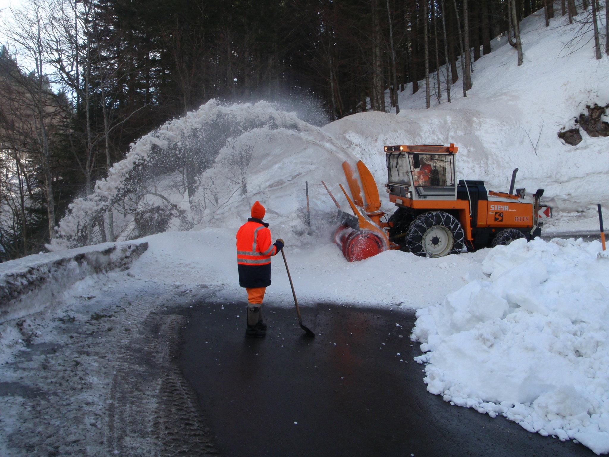 Snow blowers scene 1