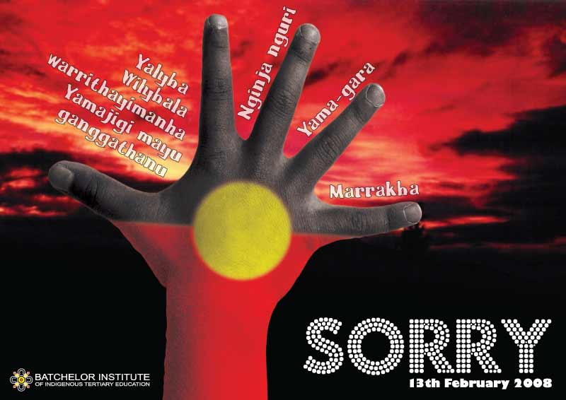 'Sorry' apology to Stolen Generations