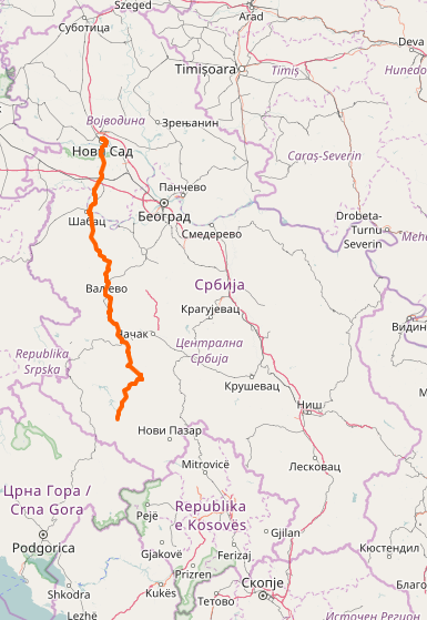 State Road 21 Serbia Wikipedia