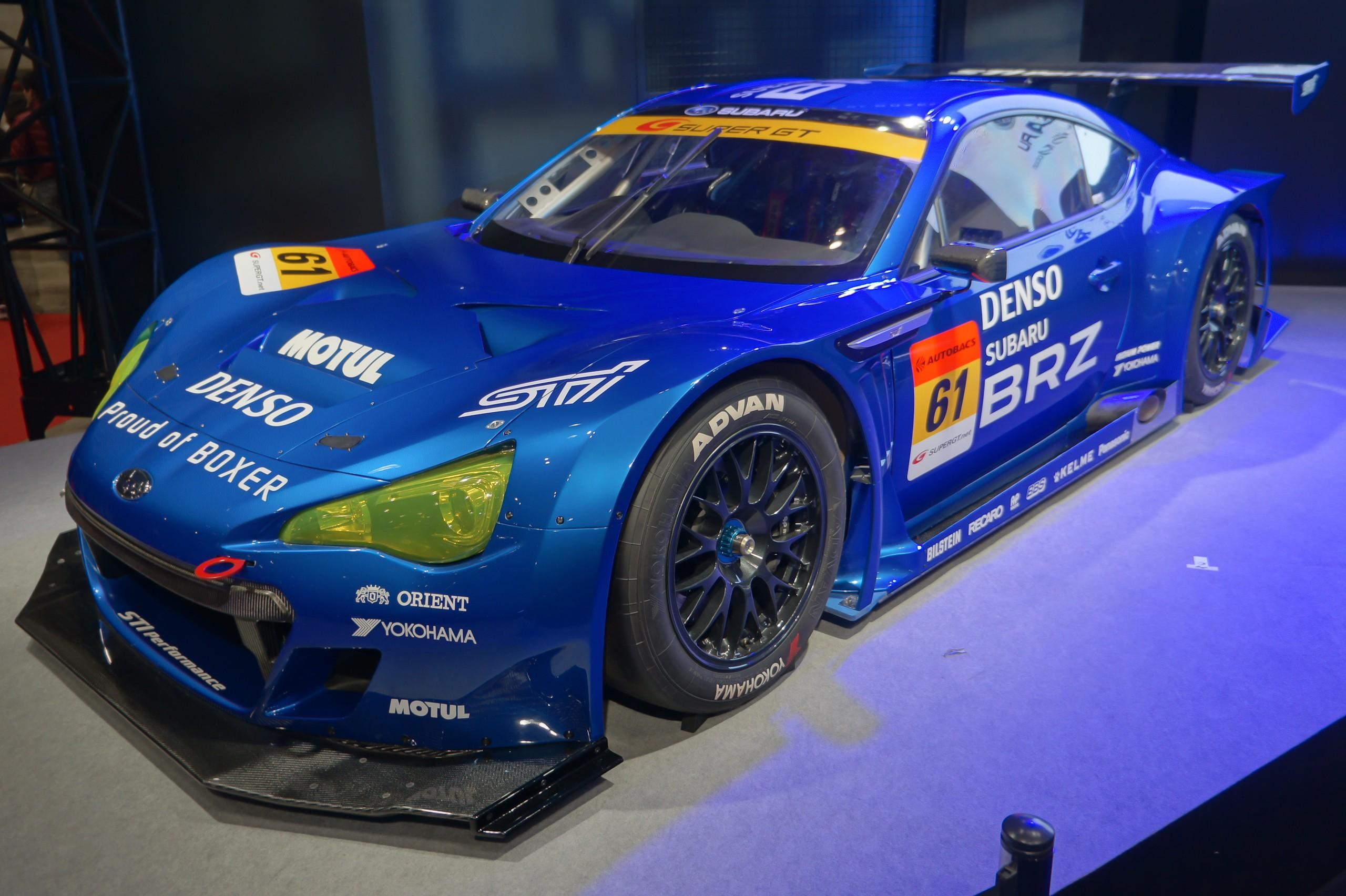 File:Subaru BRZ GT300 2012 Tokyo Auto Salon.jpg ...