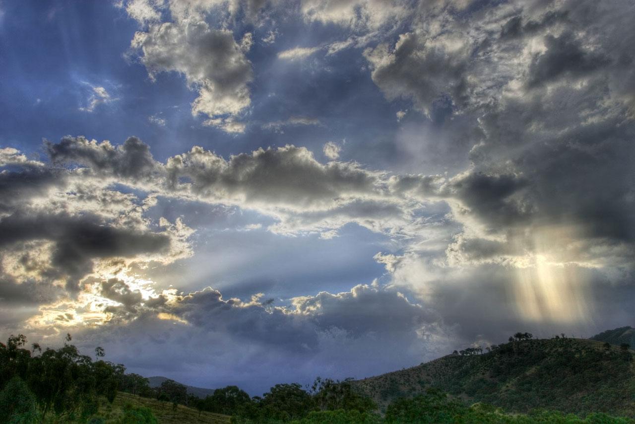 Coucher de soleil. (définition réelle 1280×854 *)
