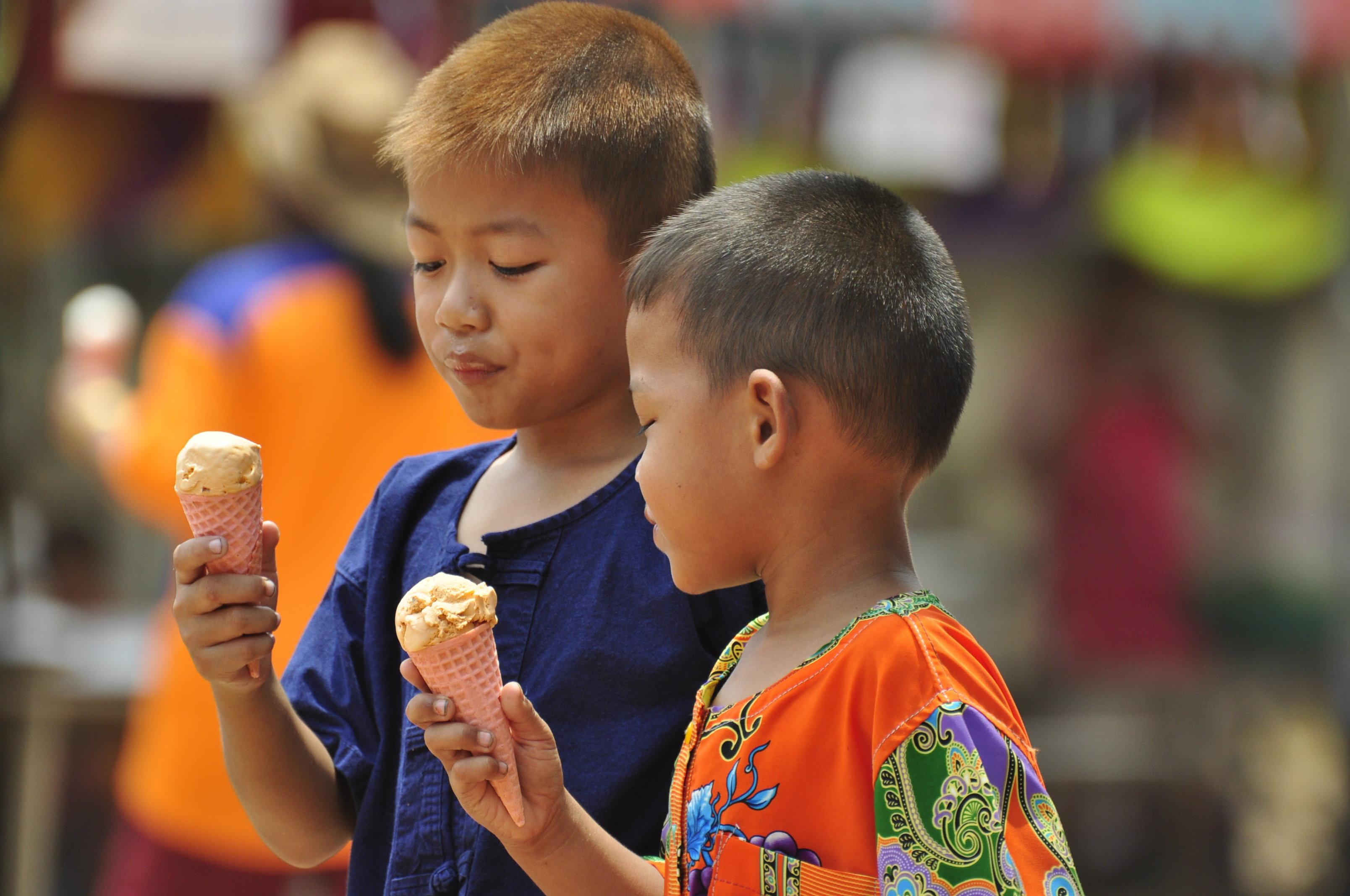 Ice Cream Thai M Food Truck