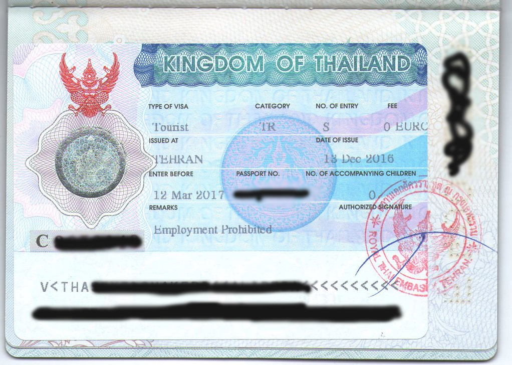 Visa policy of Thailand - Wikipedia