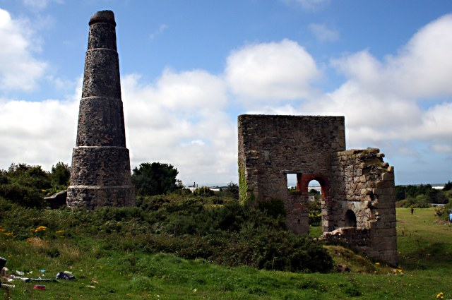 The Remains of Carn Brea Mine - geograph.org.uk - 535976