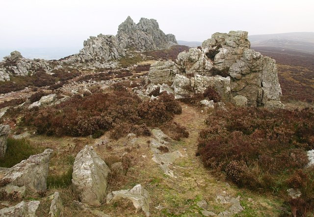 The Stiperstones - geograph.org.uk - 1111765
