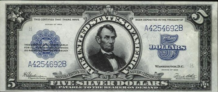 1923-silver-certificate
