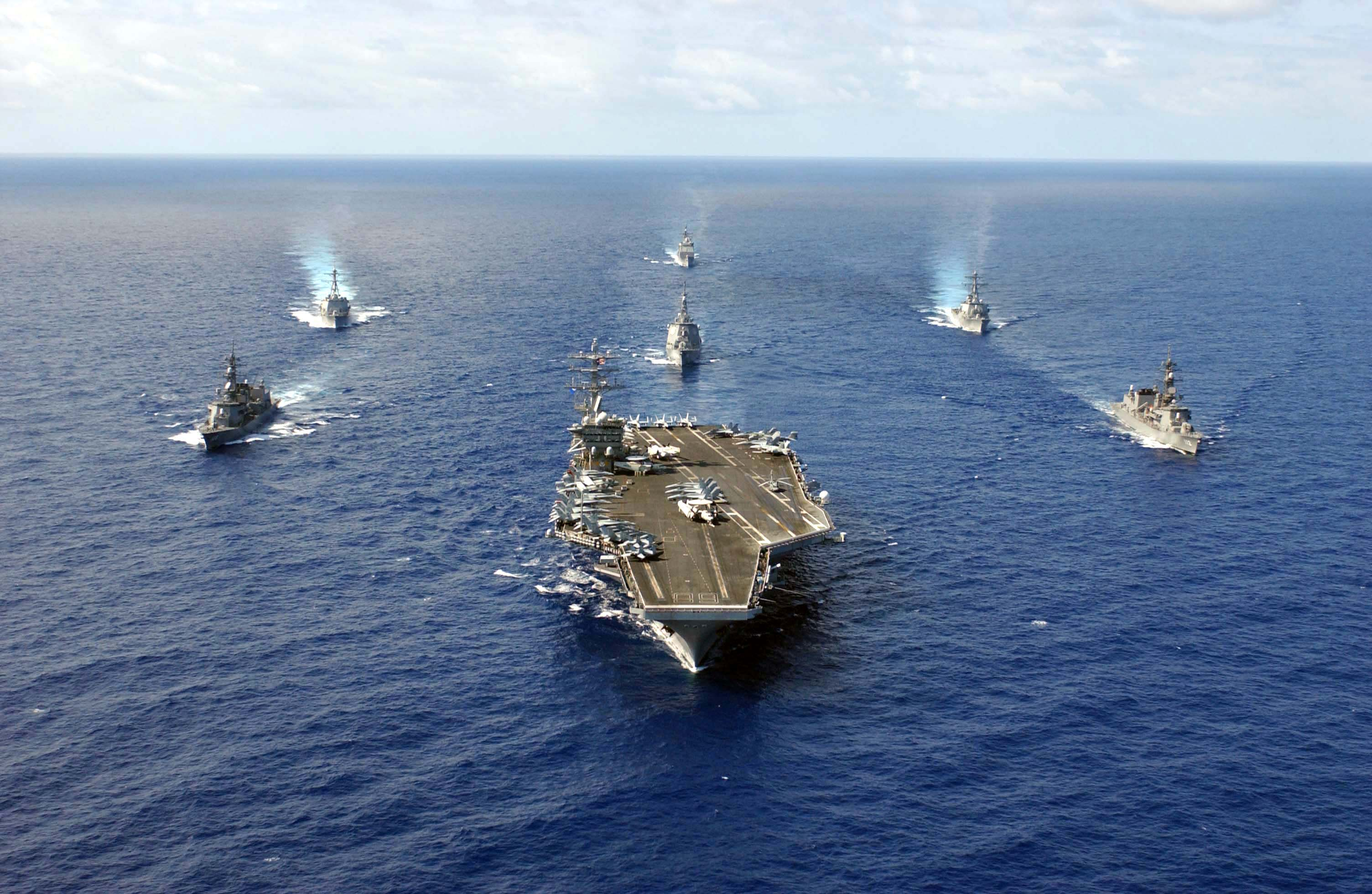 U.S. Sends Second Carrier to Asia Amid Tensions with China