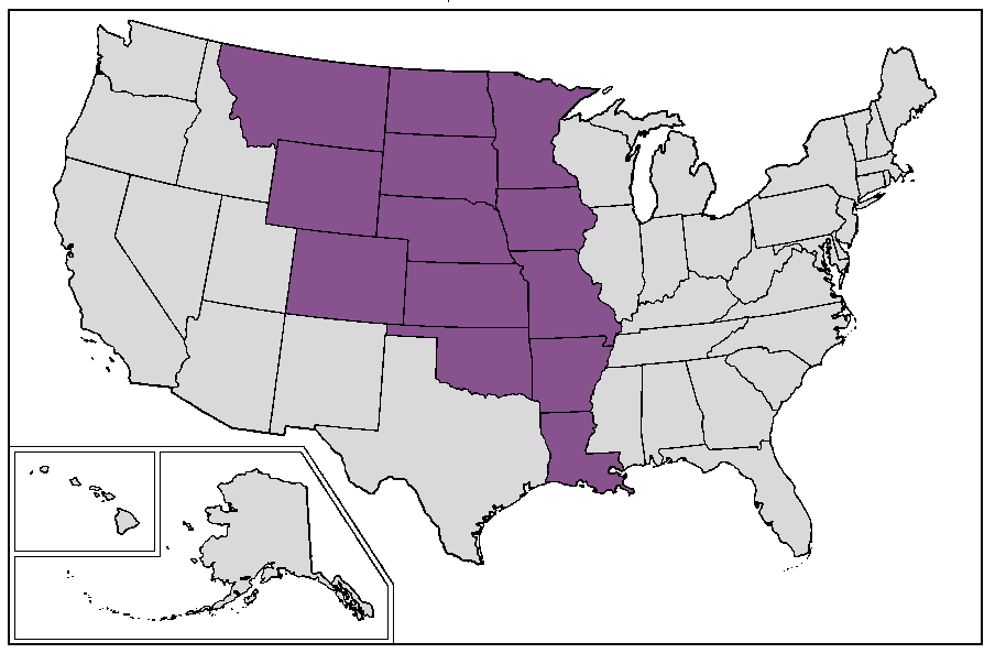 FileUnited States Louisiana Purchase Statespng Wikimedia Commons - Louisiana on usa map
