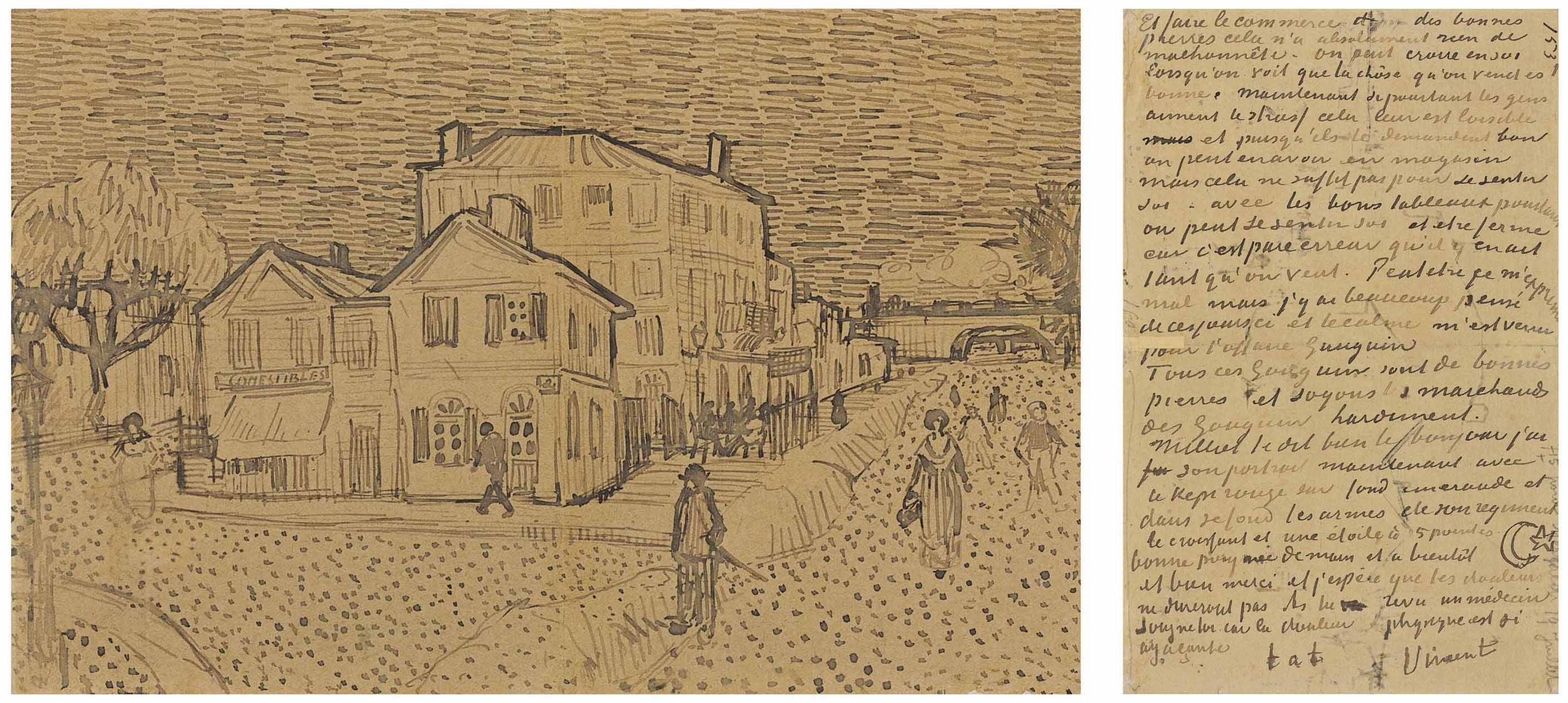 File:Vincent van Gogh - Letter VGM 491 - The Yellow House F1453 JH 1590