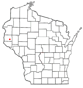 Location of Baldwin (town), Wisconsin