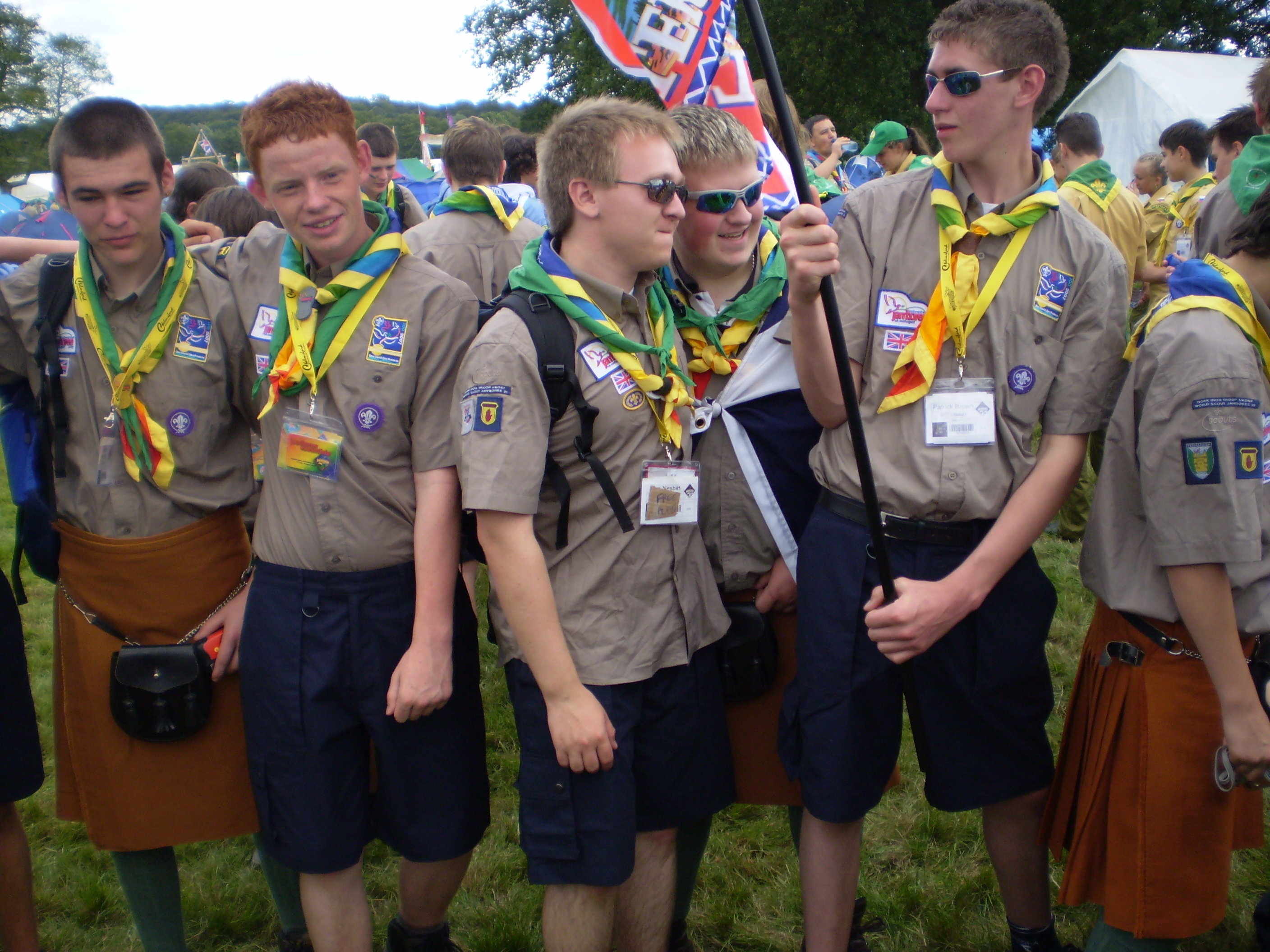 explorer scouts (the scout association) - wikipedia