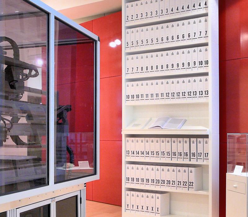 Wellcome Genome Bookcase