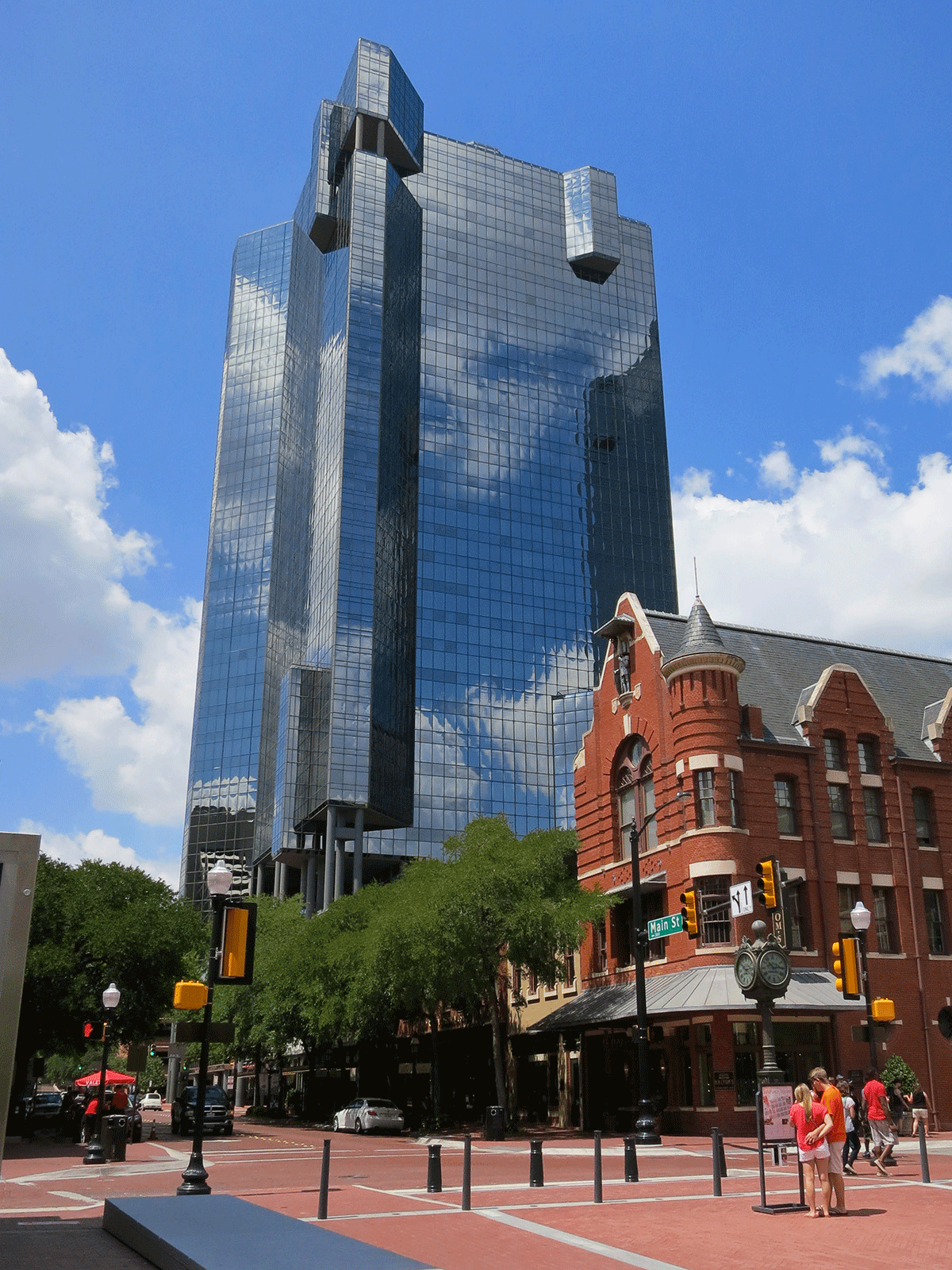 Fort Worth Texas >> Wells Fargo Tower Fort Worth Texas Wikipedia