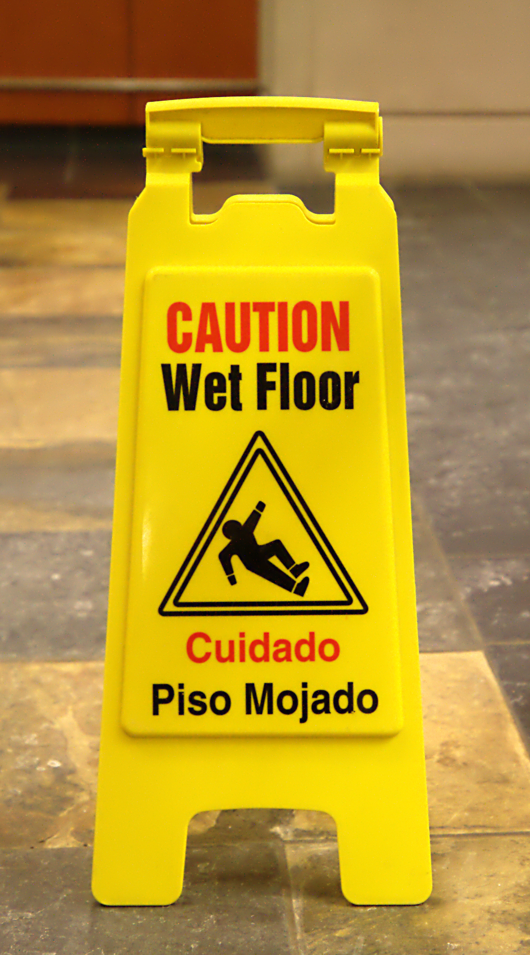image equipment sign workplace signs warning parrs floor wet cone banana