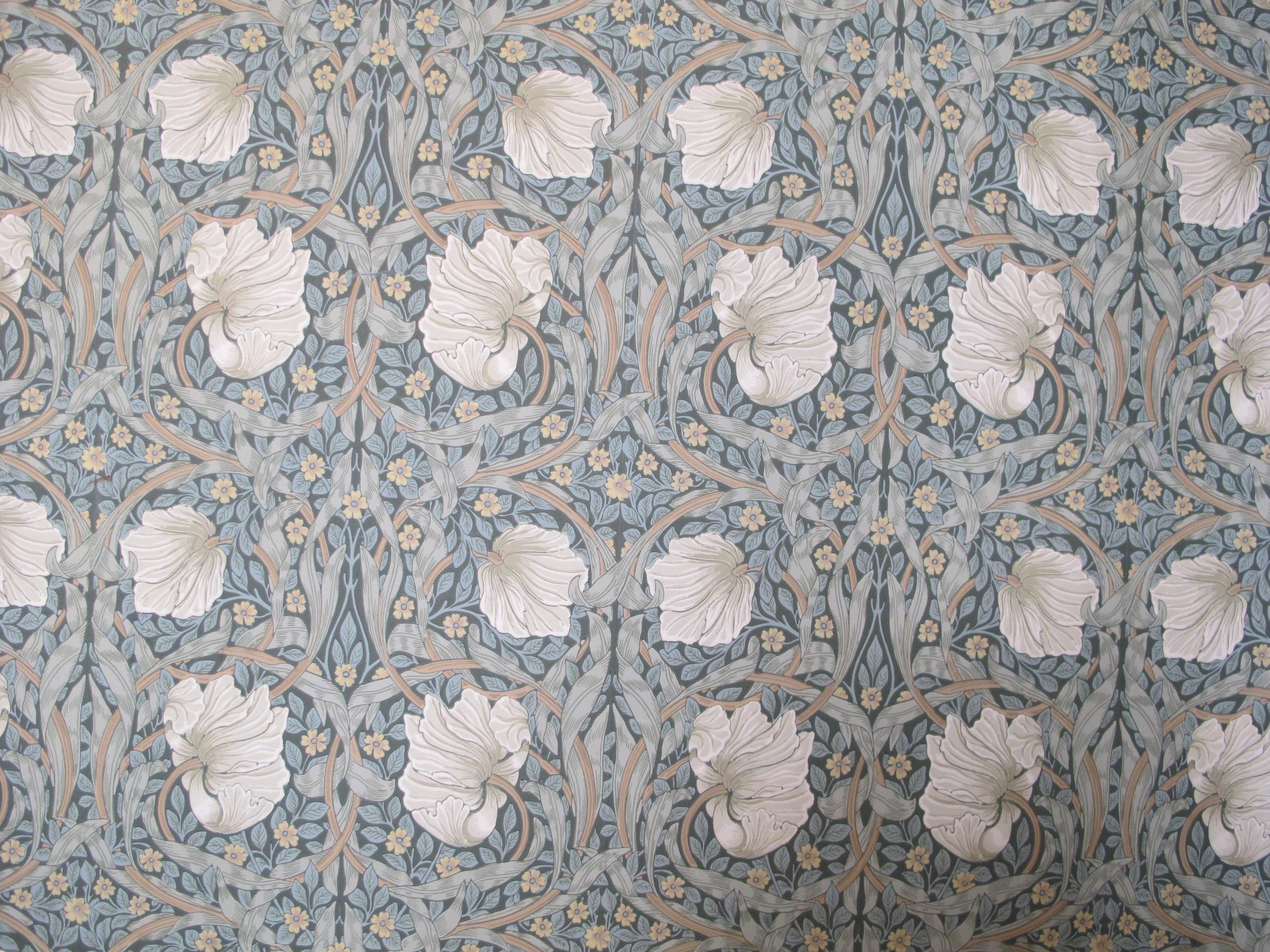 File:William Morris Pimpernel Wallpaper, Two Temple Place