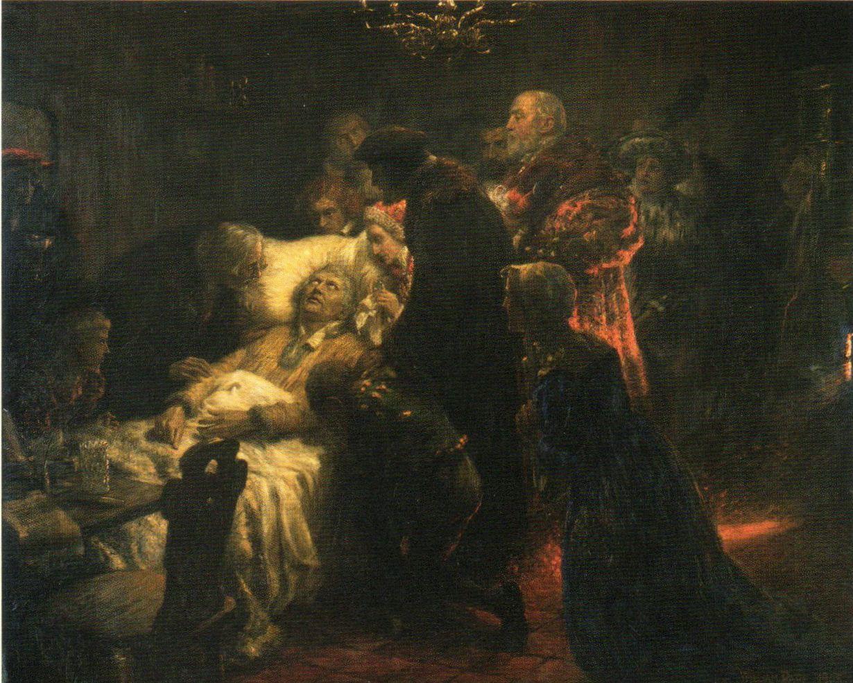 Luther auf dem Totenbett – Wikipedia