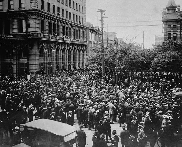 a history of the winnipeg general strike in canada The 1919 winnipeg general strike the , and there are in canada two other works by but the winnipeg strike will go down in history as a magnificent.