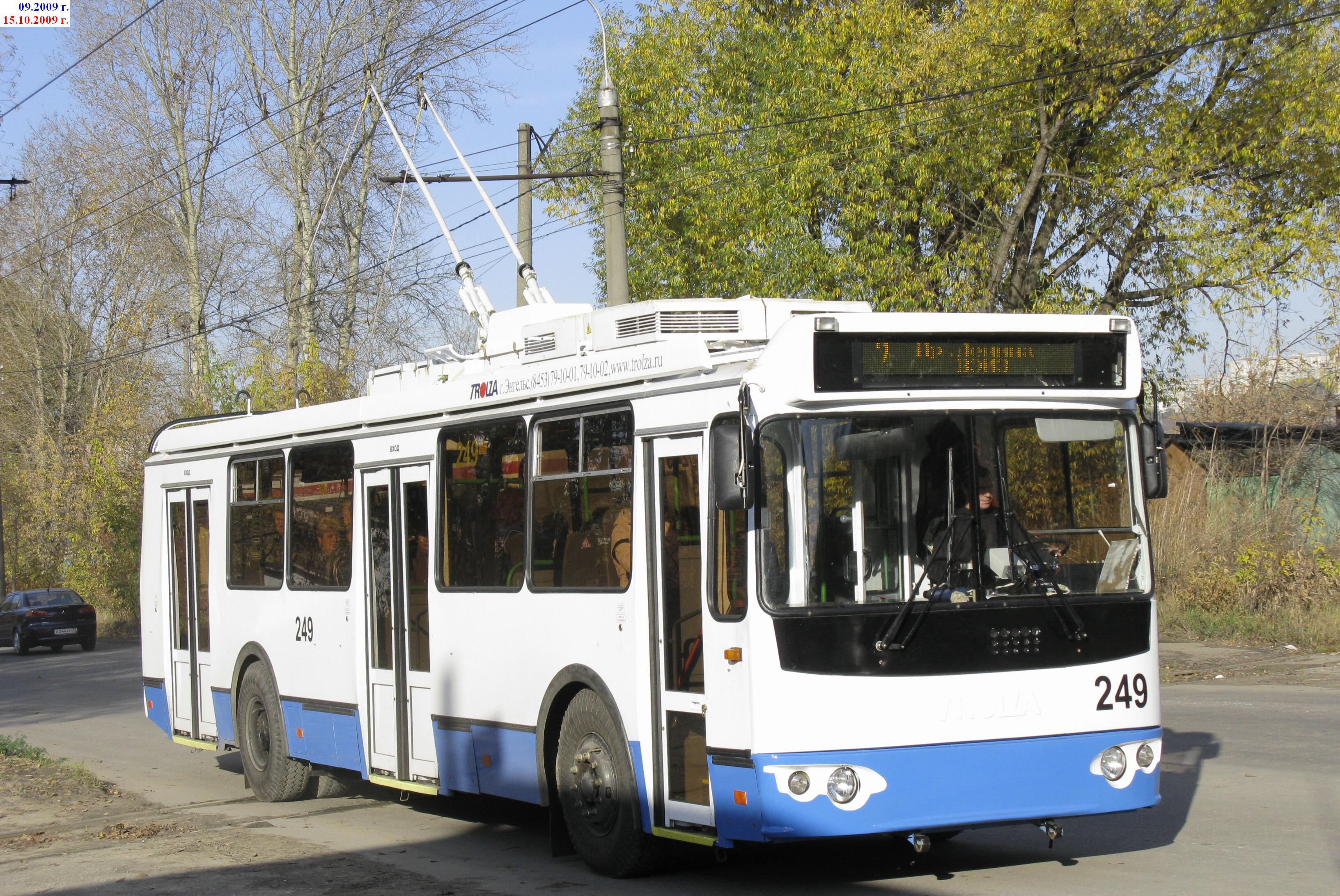 схема движения 27 троллейбуса