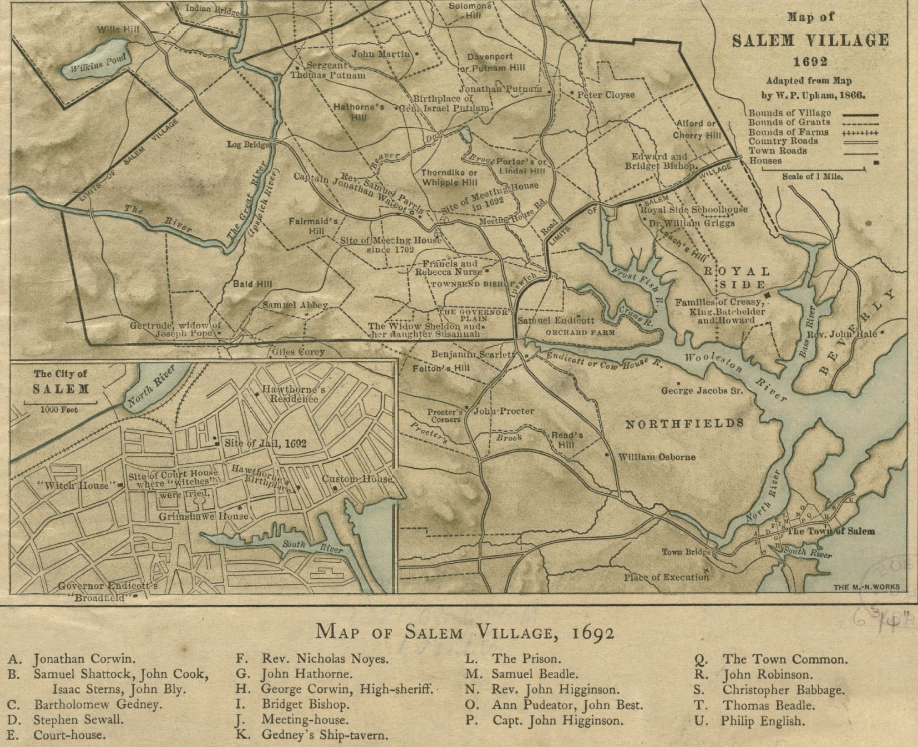 1692 Salem Massachusetts map BPL 12894.png