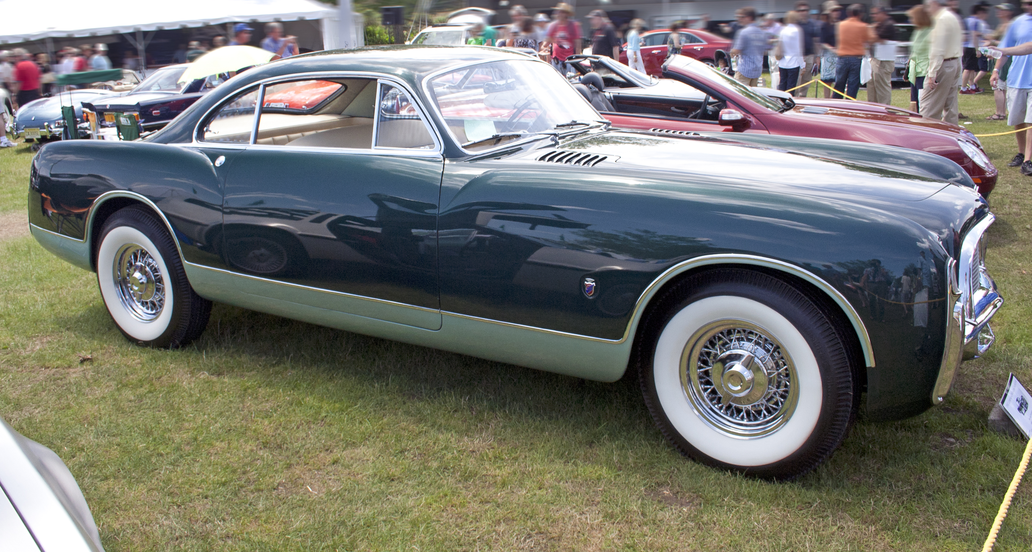 File:1952 Chrysler Ghia SWB proto.jpg - Wikimedia Commons