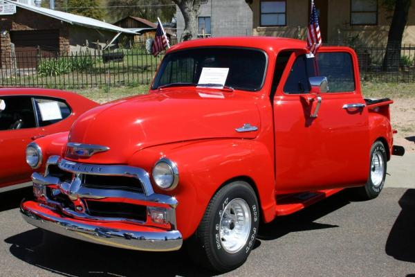 serial number for 1945 chevy pick up