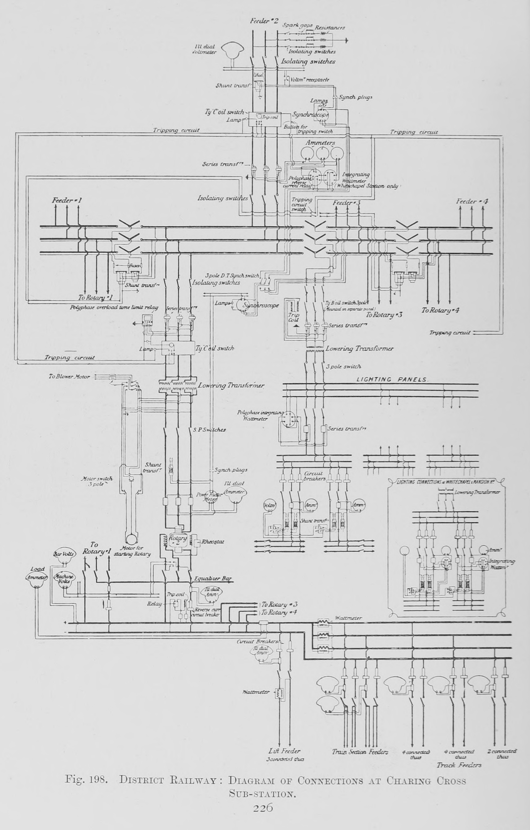 File:198. District Railway - Diagram of Connections at Charing Cross ...