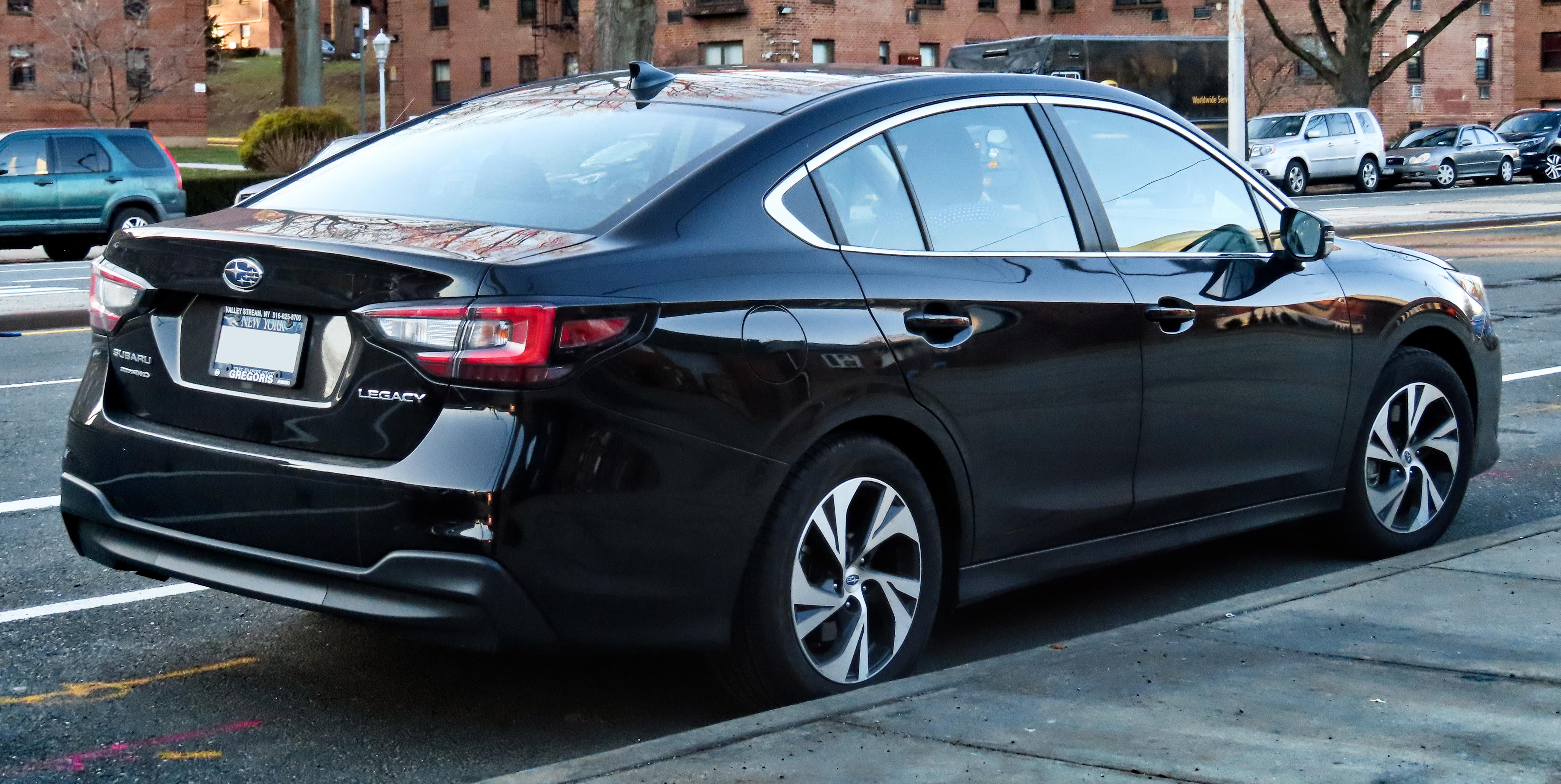 File:2020 Subaru Legacy Premium AWD, rear 2.14.20.jpg - Wikimedia ...