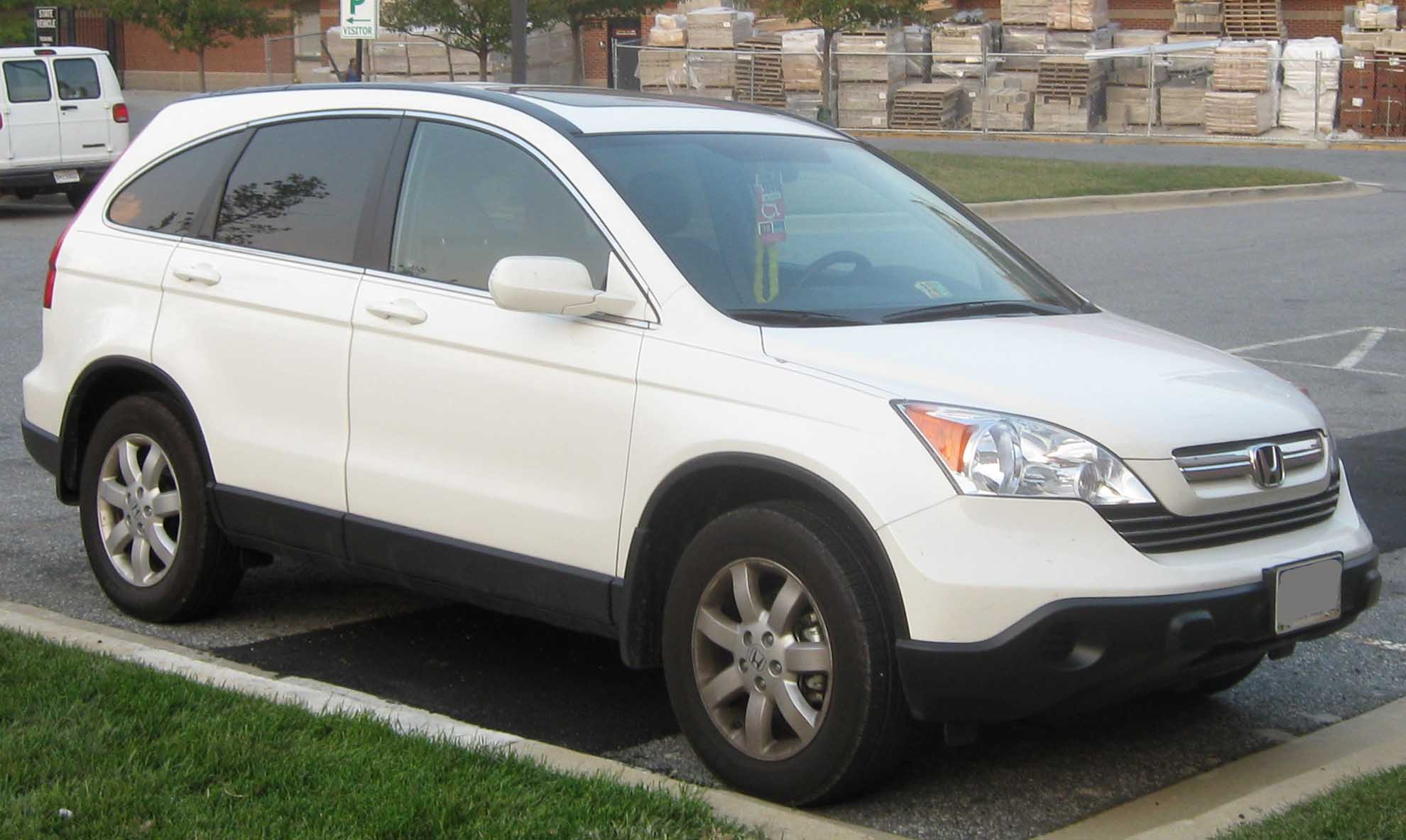 File 3rd Honda Cr V Ex Jpg Wikimedia Commons